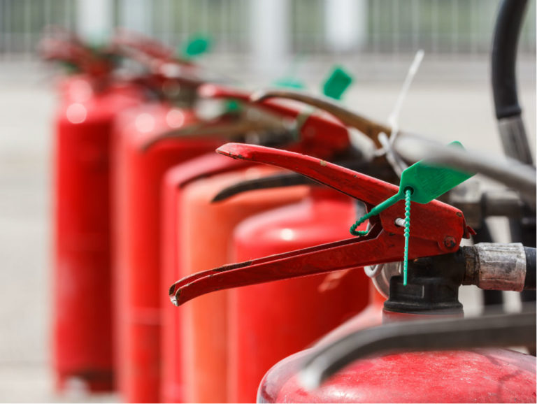 Fire extinguishers - Hine Chartered Insurance Brokers